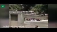 Neelum Bridge Collapse Caught On Camera