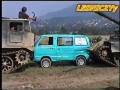 NEW!!! MEGA CRASH! Tank & SUZUKI! T 55 AM & ATS crushes car