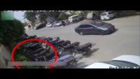 CCTV Footage Of Motorbike Robbery In Karachi