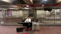 Beautiful played piano...by kid