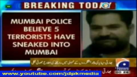 Indian Lies Exposed 3 Pakistanis Enter Mumbai for Terrorism