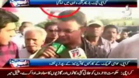 Attack on Media, Aaj News reporter Taha Ubadi manhandled and beaten by Ayaz Latif Palijo