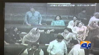 Vulgar remarks followed by shoe throwing during the Punjab Assembly session