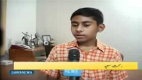 Pakistani kid made a system through which you can control your home with touch screen and mobile
