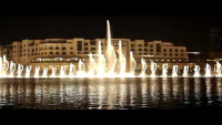 Dancing fountain…Dubai
