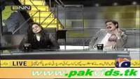 Veena Malik with Shaikh Rasheed