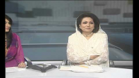 SHAISHTA ZAID LAST BULLETIN on ptvnews 1969-2012