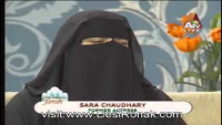 Sara Chaudary- Her first Live interview.