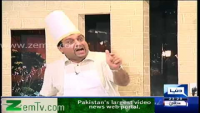 Azizi Hillarious Parody of a chef doing cooking shows