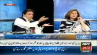 Hanif Abbasi Vs Fauzia Kasuri - furious words exchanged