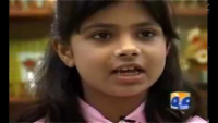 Asiya Arif 7 Years Old Pakistan's Youngest University Student