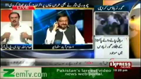 Malik Shakeel Awan's Teeth Fell out in Live Show