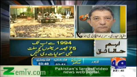 Allegations on Shaukat khannam proved baseless by Kamran Khan (06 Aug 2012)