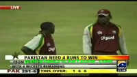 Last over 17 Runs Required - How Kamran Akmal Survived