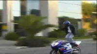 Awesome motorcycle stunt