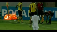 FootBall Player Finds Grenade on Field & Almost Losses His Hand