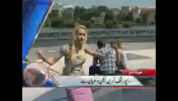 What Happen with Female Reporter