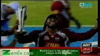 Westindies Team Dancing & Celebrating After Becoming World T20 2012 Champions