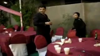 Funter Wife Gun Fires in Wedding