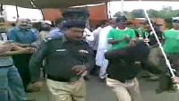 Pakistani Dancing Police Man