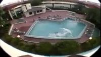 Crazy Jump In Pool