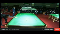 Winning Moment of World Snooker Championship 2012 - Mohammed Asif From Pakistan