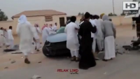 Crazy Car Drifting Very Bad Accident in Saudia