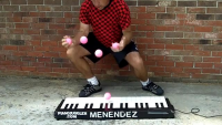 Playing Piano With Balls