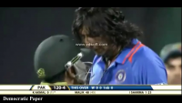 Ishant Sharma vs Kamran Akmal Fight in India vs Pakistan T20