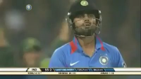 Indian Innings Fall of Wickets Highlights