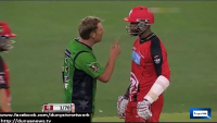 Fight between Shane Warne and Samuels