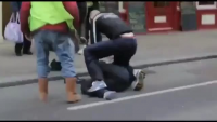 Woman Beating Thief