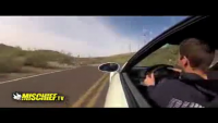 Car Speeds Out of Control