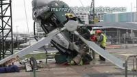 Live Helicopter accident(Must Watch)