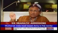Musharraf Slapped Hard Indian Anchor Again