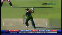 Shahid Khan Afridi Batting Highlights