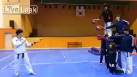 Helicopter kick!