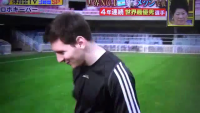 Lionel Messi Vs Japanese Robot Goal Keeper(Must Watch)