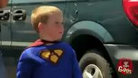 Superhero Halloween Costume With Real Powers Prank